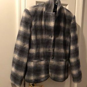 Jackets & Blazers - Women's plaid blazer